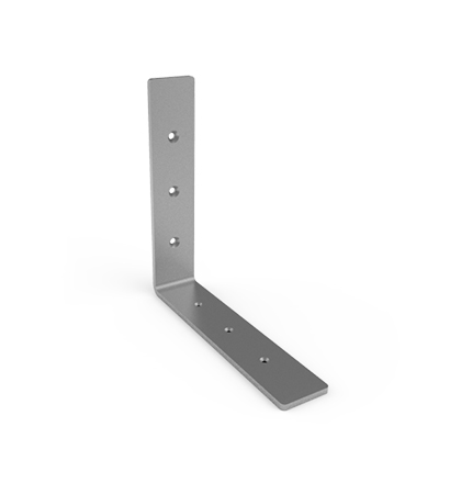 A Metal L Bracket Design