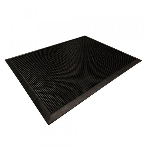 """Sanitizing Floor Mat - 32"""" x 24"""" x .5"""" - Natural Rubber"""