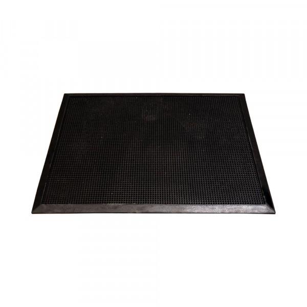 """Sanitizing Floor Mat - 24"""" x 16"""" x .5"""" - Natural Rubber"""