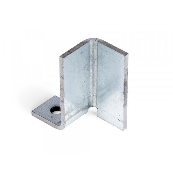 "Stanchion Bracket - 2"" x 1"" x 1"" - Galvanized Steel"