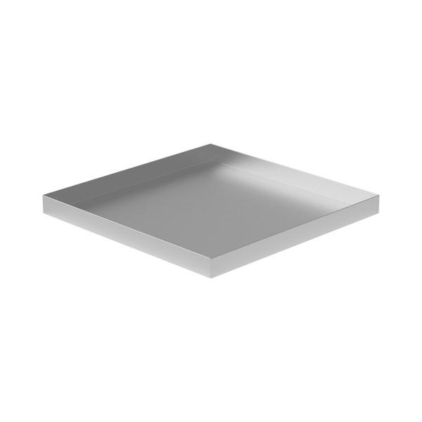 """Drip Pan - 24"""" x 24"""" x 2"""" - Aluminum"""