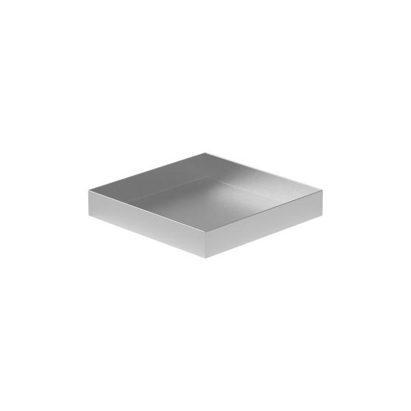 """Drip Pan - 12"""" x 12"""" x 2"""" - Aluminum"""