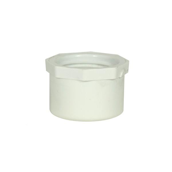 """Drain Fitting Stopper Cap - 1"""" - PVC"""