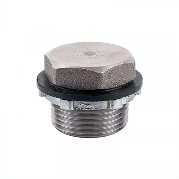 """Drain Plug Fitting - 1""""- Steel"""