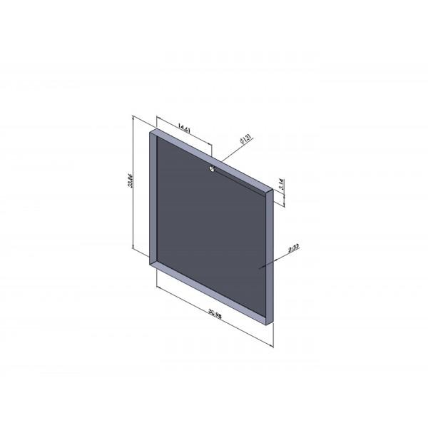 Custom 33 86 X 30 98 X 2 20ga Galv Steel Drain Pan