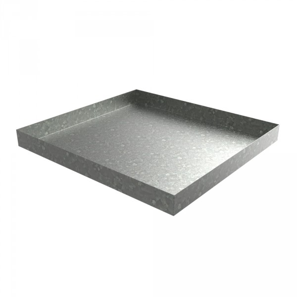 Galvanized Compact Washer Drip Pan