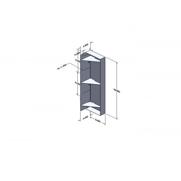 Wall Mount Drain Pan : Small wall mounted drip pan