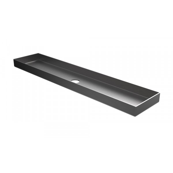 "HVAC Drain Pan - 22.5"" x 4.75"" x 1.25"" - Stainless Steel"