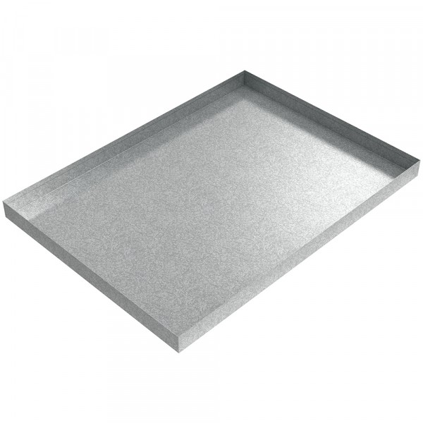 "AC Drip Pan - 33"" x 24"" x 2"" - Galvanized Steel"