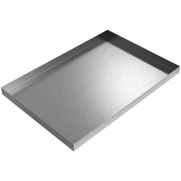"""Ice Maker Drip Pan - 24"""" x 17"""" x 1.5"""" - Stainless Steel"""