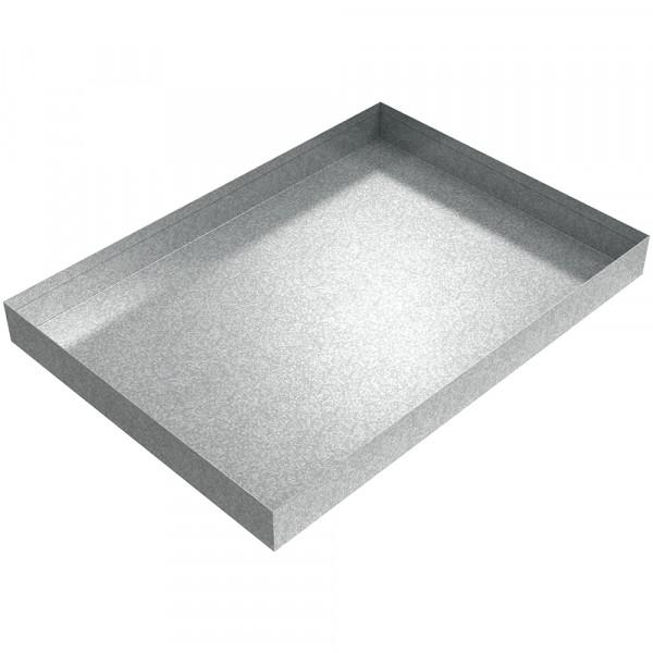 "Ice Maker - 21"" x 15"" x 2"" - Galvanized Steel"