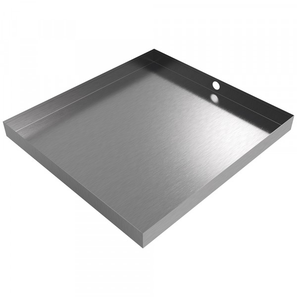"""Ice Maker Drain Pan - 29"""" x 27"""" x 2.5"""" - Stainless Steel"""