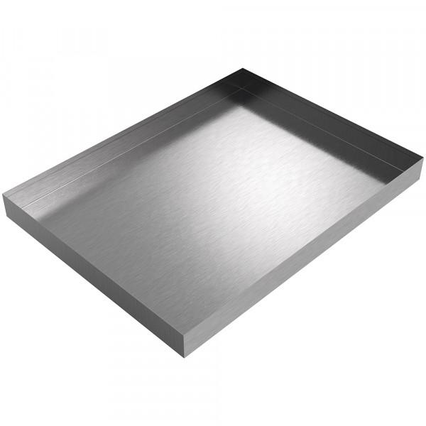 "Under Sink Pan - 31"" x 23"" x 2.5"" - Stainless Steel"