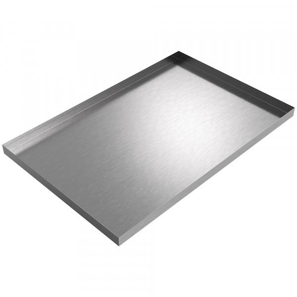 "Under Sink Pan - 34.25"" x 22.5"" x 1.5"" - Stainless Steel"