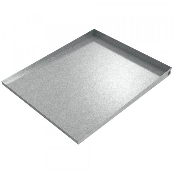 """Washer Pedestal Tray - 36"""" x 30"""" - Galvanized Steel"""