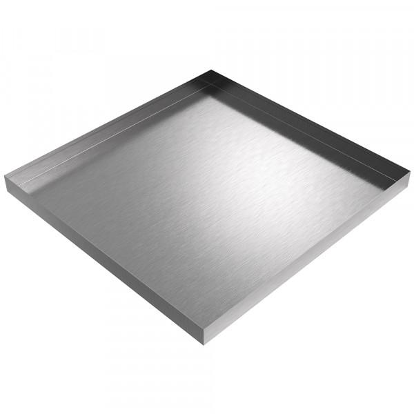 "Drip Pan - 28.5"" x 27.5"" x 2"" - Stainless Steel"
