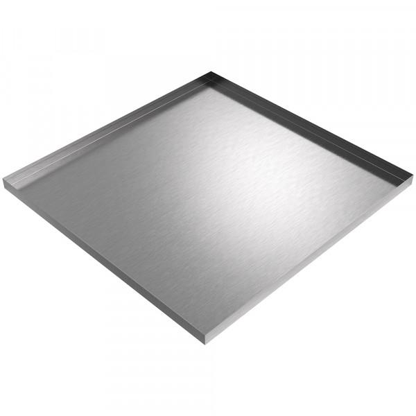 "Drip Pan - 35"" x 34"" x 1.5"" - Stainless Steel"