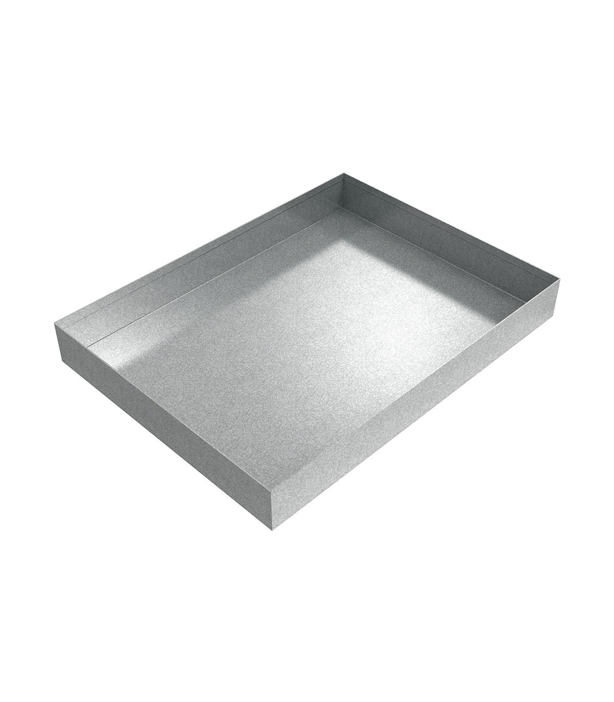 Galvanized Water Heater Drip Pan