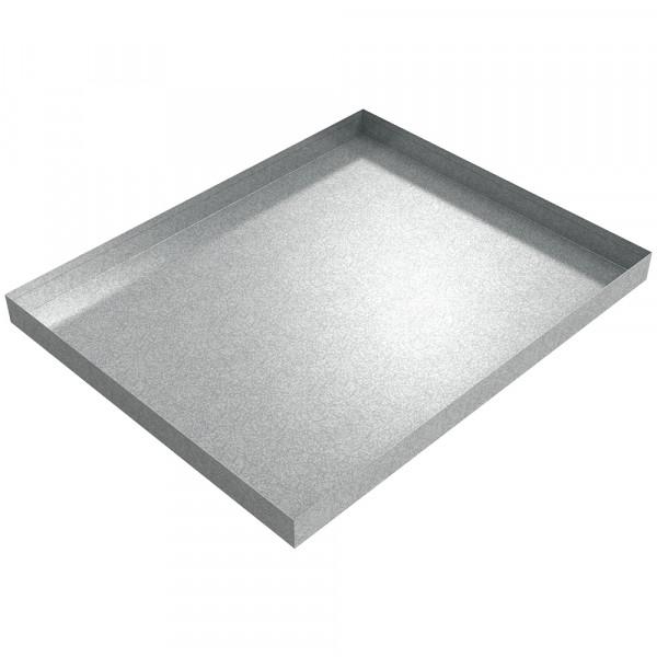 """Under Sink Drip Pan - 28.5"""" x 23"""" x 2"""" - Galvanized Steel"""