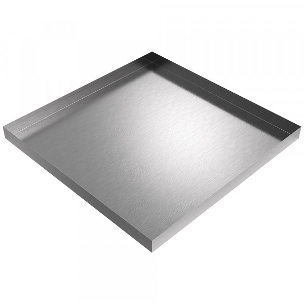 "AC Drip Pan - 28"" x 28"" x 2"" - Stainless Steel"