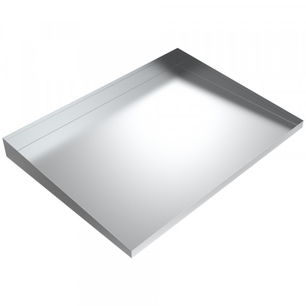"Low Profile Drip Tray - 26"" x 19"" x 2.5"" - Aluminum"