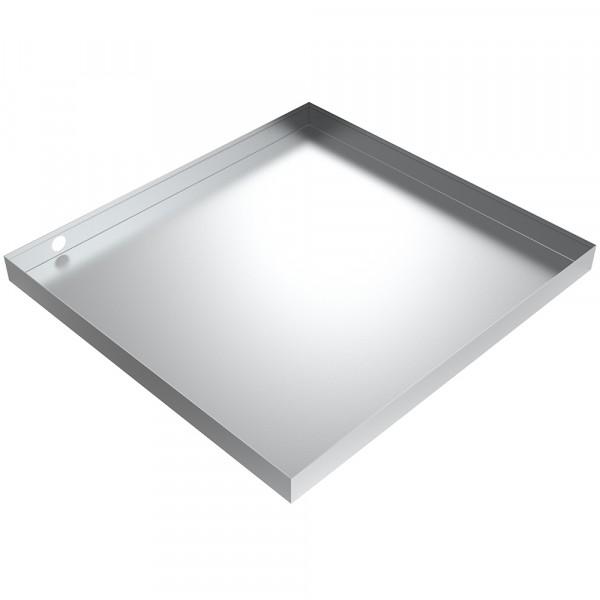 """Drain Pan - 34"""" x 32"""" x 2.5"""" - Aluminum"""