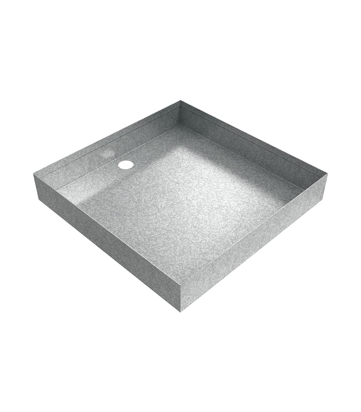 Galvanized Drain Pan 12 X 12