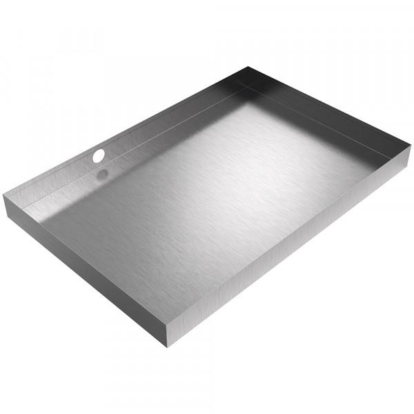"Drain Pan - 30"" x 20"" x 2.5"" - Stainless Steel"