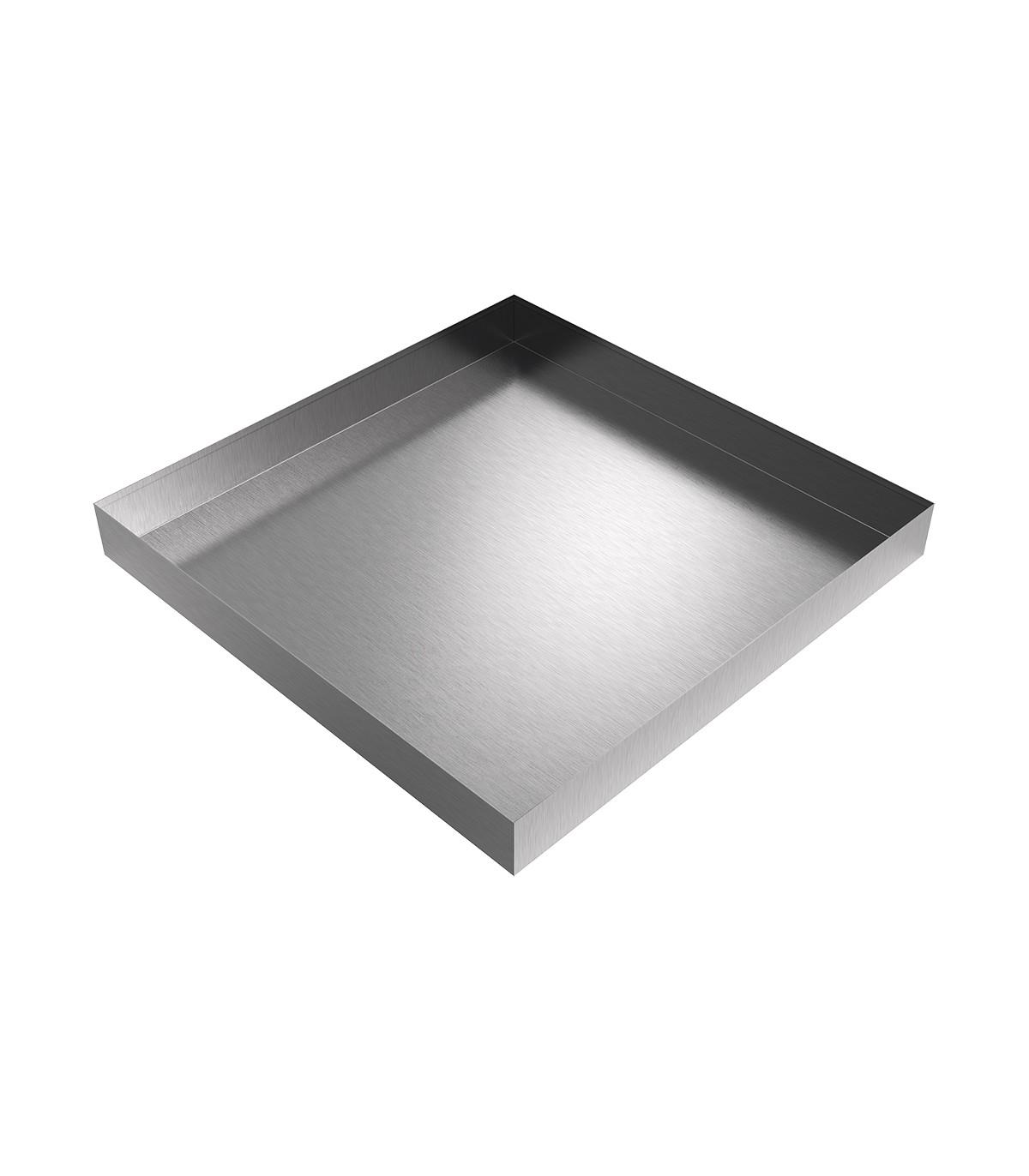 36x36 Stainless Drip Pan