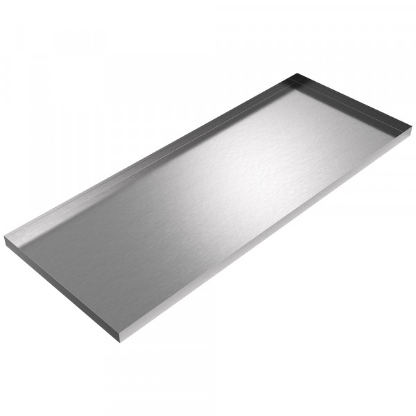 """Large Drip Pan - 67.5"""" x 26.5"""" x 2"""" - Stainless Steel"""