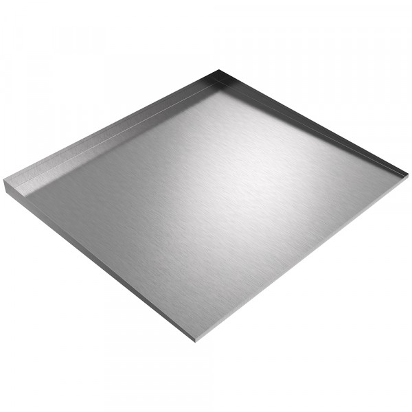 """Low Profile Drip Pan - 36"""" x 32"""" - Stainless Steel"""