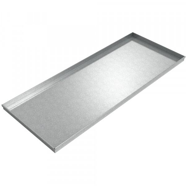 "Assembly Drip Pan - 60"" x 24"" x 2"" - Galvanized Steel"