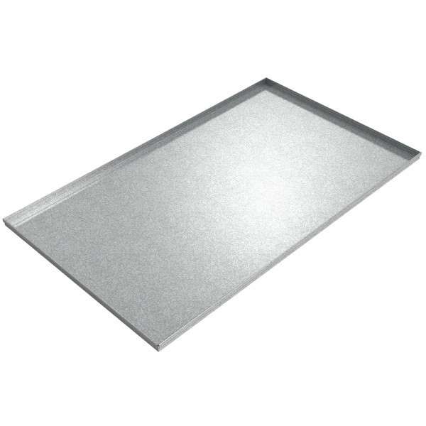 """Crash Recovery Equipment Assembly Pan - 61"""" x 36"""" x 1.5"""" - Galvanized Steel"""
