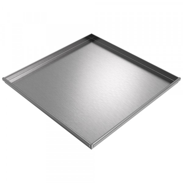 """Assembly Drip Pan - 35"""" x 35"""" x 2"""" - Stainless Steel"""