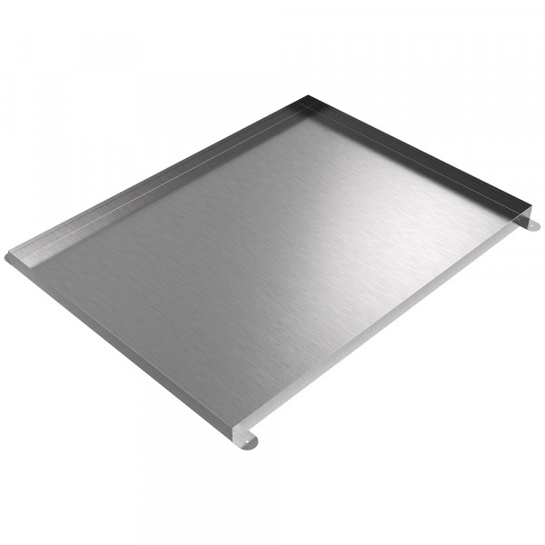 "Floor Mount Drip Pan - 48"" x 36"" x 2"" - Stainless Steel"
