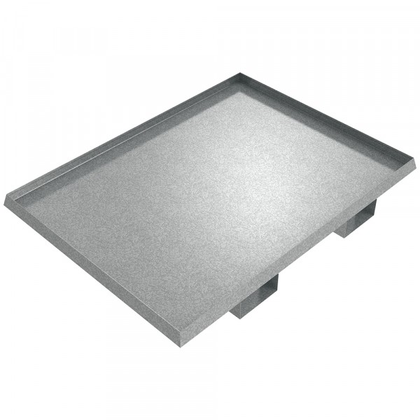 "Drum Spill Pallet - 48"" x 36"" x 2""  - Galvanized Steel"