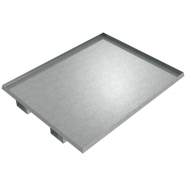 "Drum Spill Pallet - 60"" x 48"" x 2"" - Galvanized Steel"