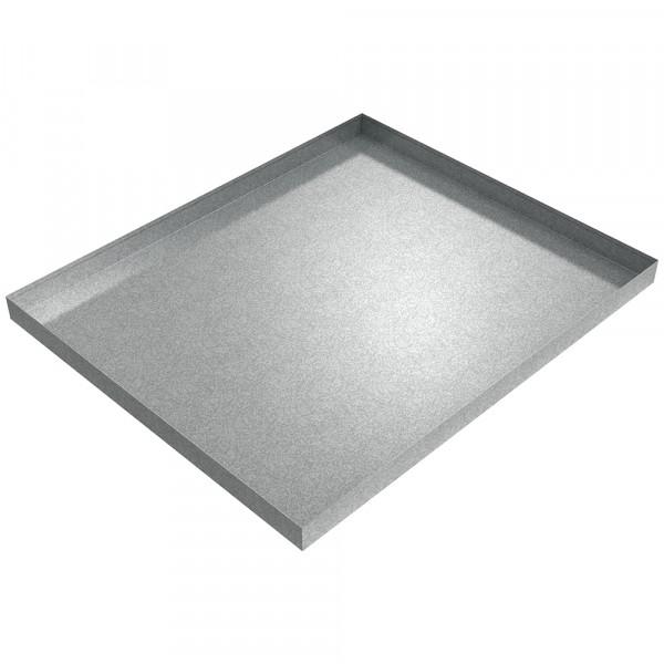"Pallet Rack Drip Pan - 48"" x 40"" x 2.75"" - Galvanized Steel"