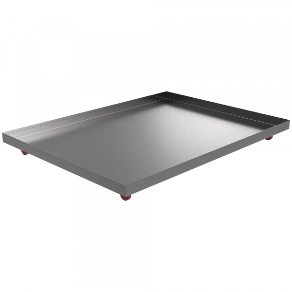 """Rolling Drip Pan - 48"""" x 36"""" x 2"""" - Stainless Steel"""