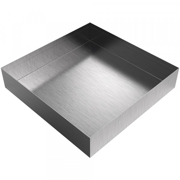 "Drip Pan - 12"" x 12"" x 2.5"" - Stainless Steel"