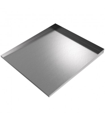 Stainless Front Load Washer Drip Tray