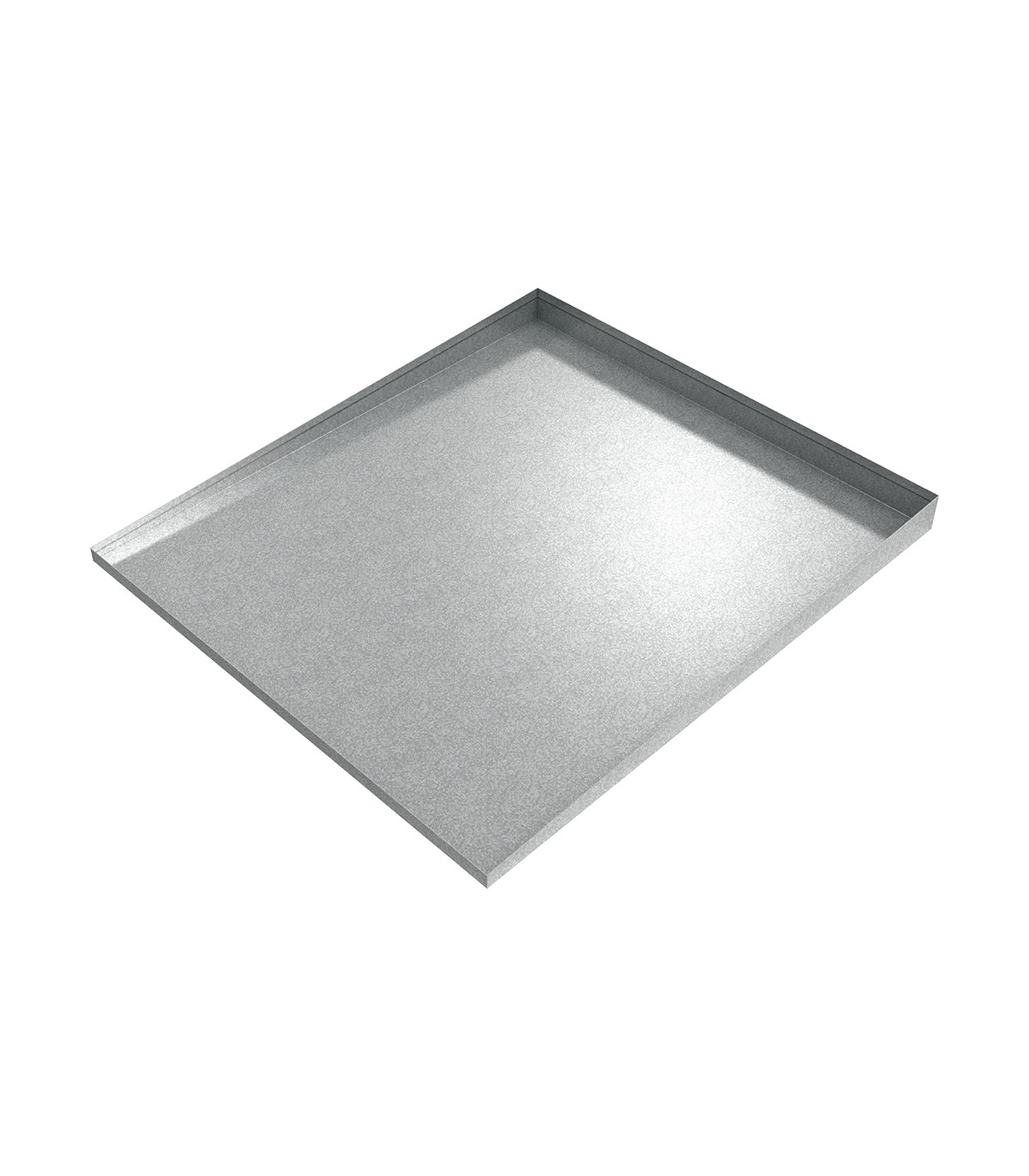 Galvanized Steel Front Load Washer Drip Tray