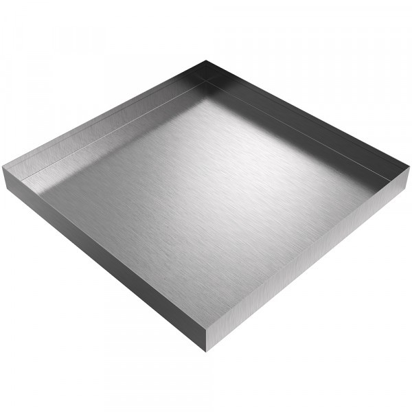 "Bargain - Drip Pan - 24"" x 24"" x 2.5"" - Stainless Steel"