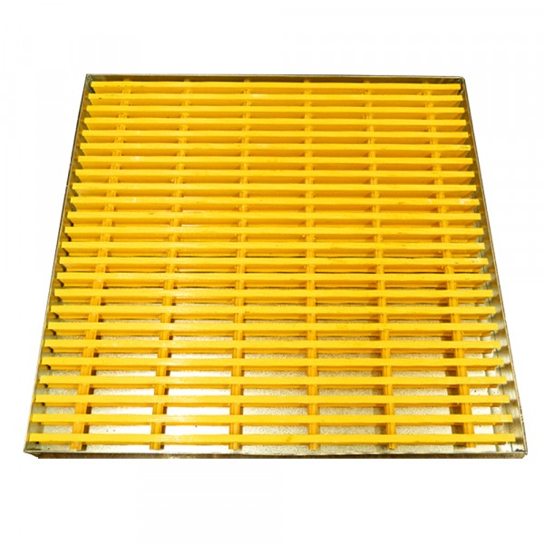 "Spill Containment Platform Unit - 36"" L x 36"" W x 2.5""H - Galvanized Steel"