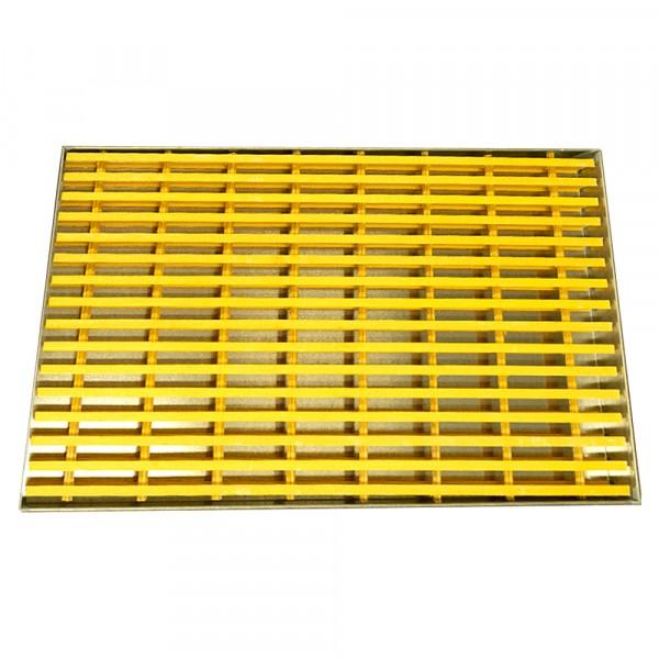 "Spill Containment Platform Unit - 48""L x 24""W x 2.5""H - Galvanized Steel"