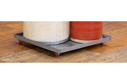 Rolling Drip Pans