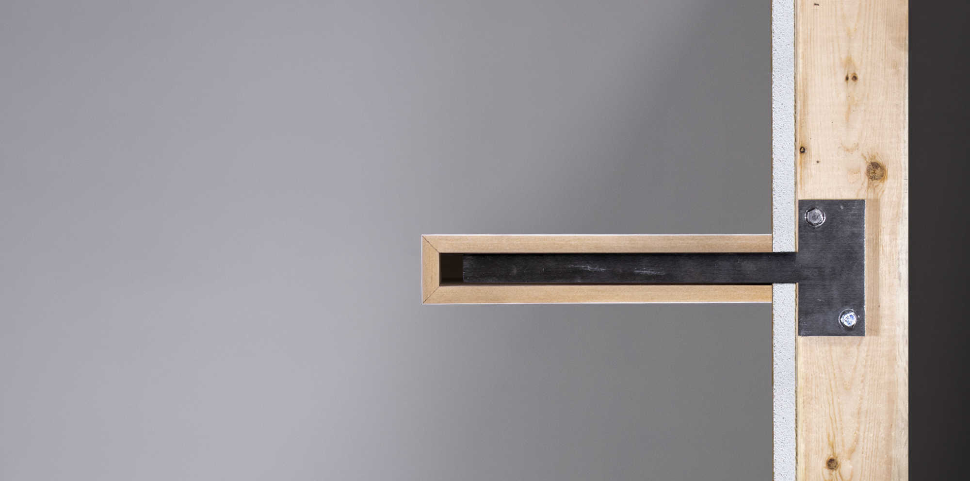 Stud-Mounted Floating Shelves