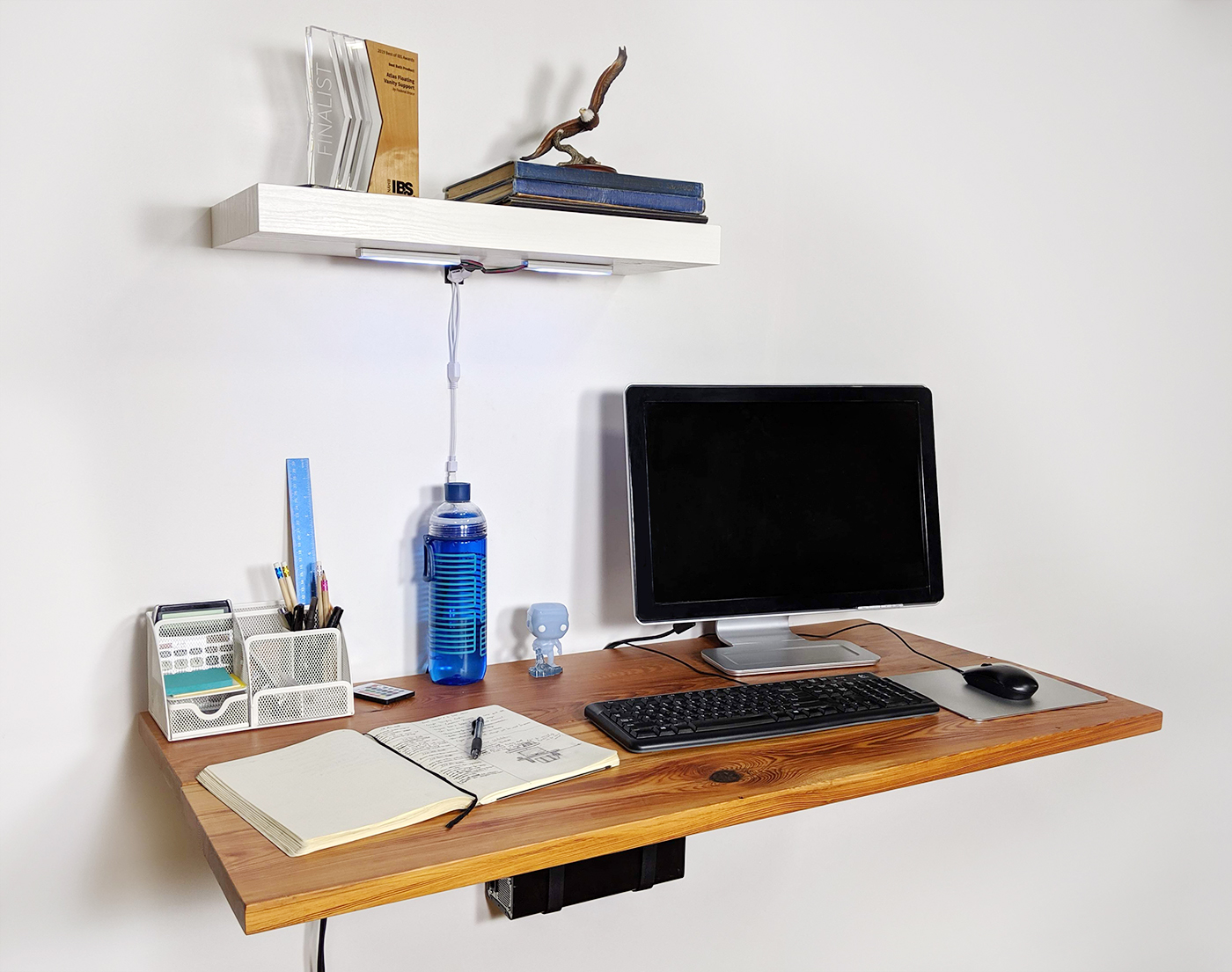 Wall Mounted Workspace