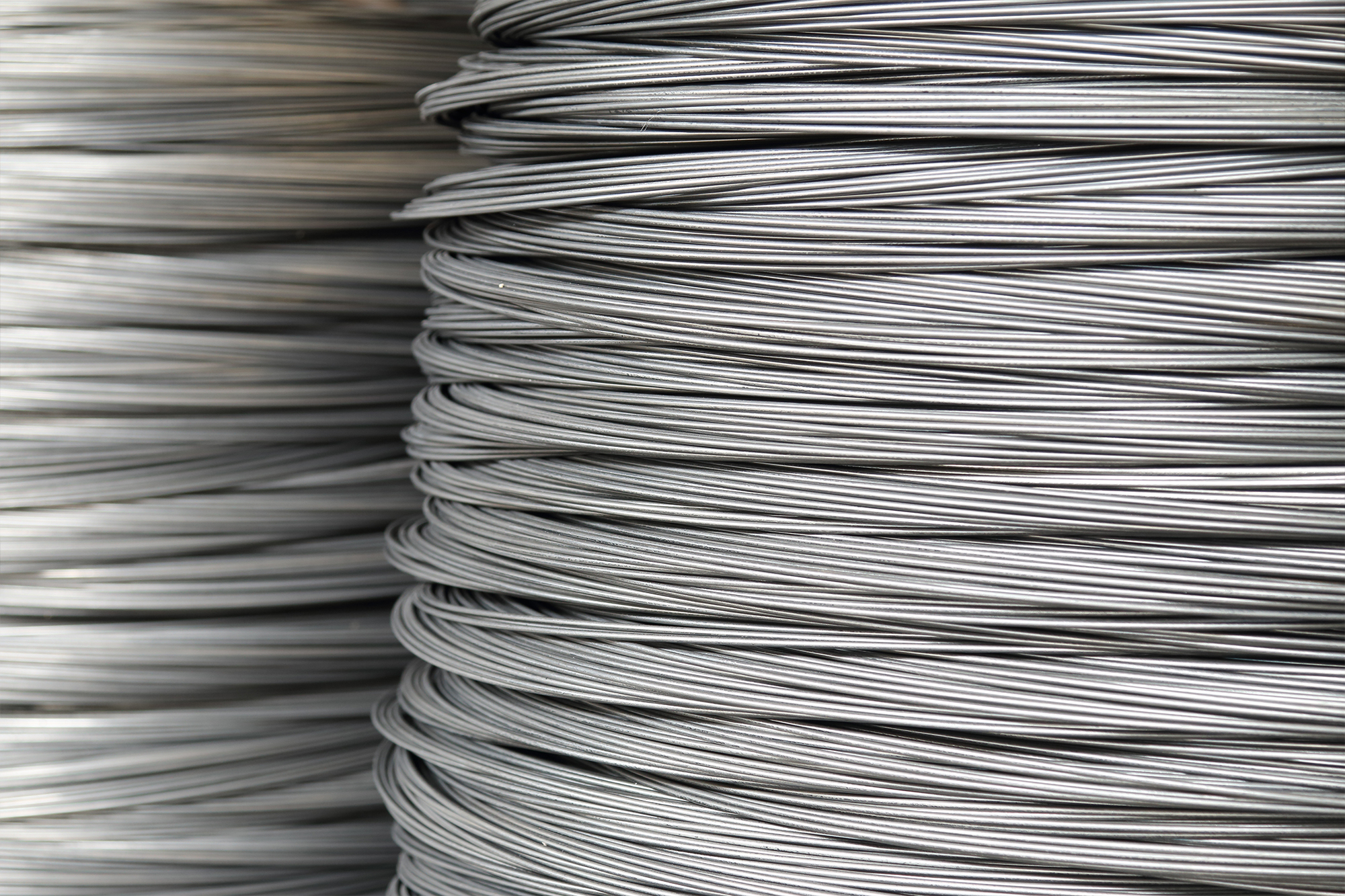 Spools of thin aluminum wire
