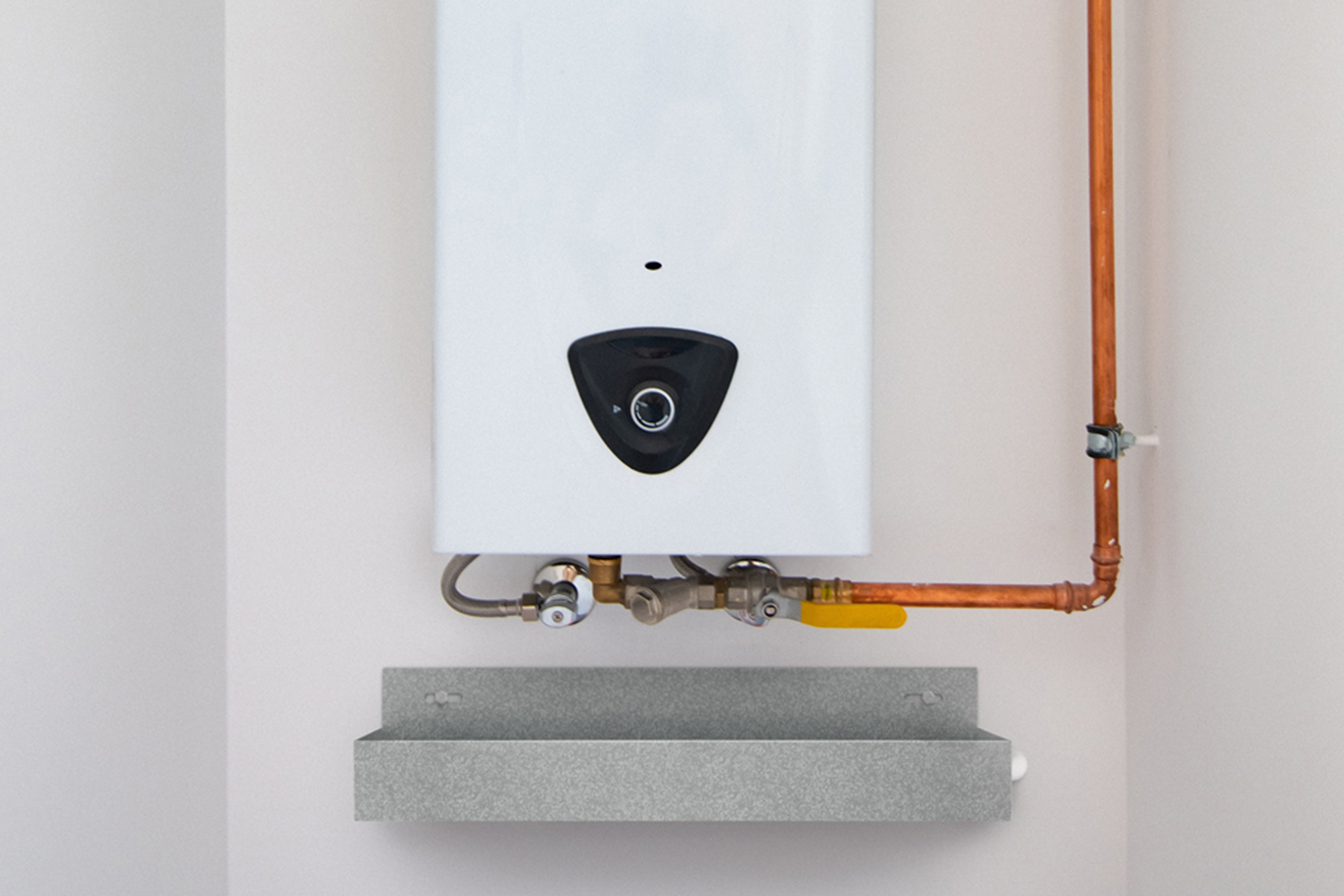 Wall Mounted Tankless Water Heater Drain Pan
